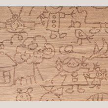 Паркетная доска Mafi Carving Kids