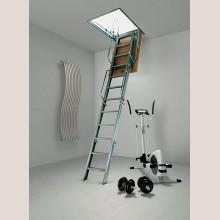 Складная чердачная лестница  c люком Модель ACI 4